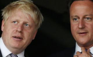 Johnson, el líder del Brexit que renunció a suceder a Cameron