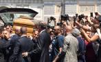 Bud Spencer fue despedido con aplausos y música en Roma [FOTOS]