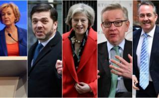 Brexit: ¿Quiénes son los aspirantes a reemplazar a Cameron?