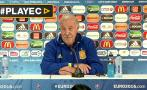 Vicente del Bosque anunció que dejará la selección española