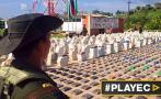 Colombia: Incautaron 495 kg de cocaína con destino a Bélgica