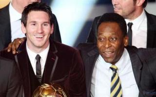 """Pelé a Messi: """"Tiene que esperar un poco y olvidarse de esto"""""""