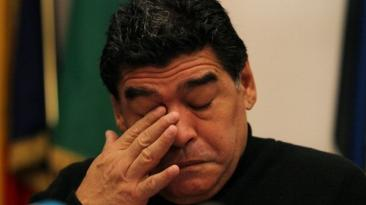 Maradona: se filtró otro audio en donde casi termina llorando