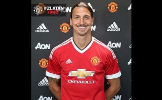 Manchester United confirmó fichaje de Zlatan Ibrahimovic