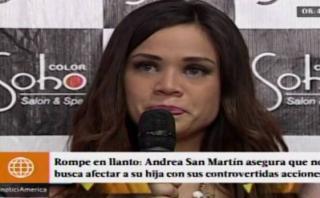 Andrea San Martín no lamenta lo dicho en El valor de la verdad