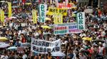 Miles de personas demandan democracia plena en Hong Kong - Noticias de albert lopo