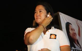 Keiko Fujimori considera burda la denuncia contra periodistas