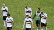 Eurocopa: rostros de decepción de los cracks de Bélgica [FOTOS]
