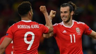 Gales derrotó 3-1 a Bélgica y accedió a las semis de la Euro
