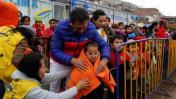 Municipio de Lima llevó abrigo y atención médica a Ticlio Chico
