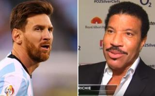 Lionel Richie y su apoyo incondicional a Messi tras la final