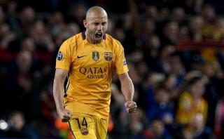 """Mascherano sobre el Barcelona: """"Espero estar muchos años más"""""""