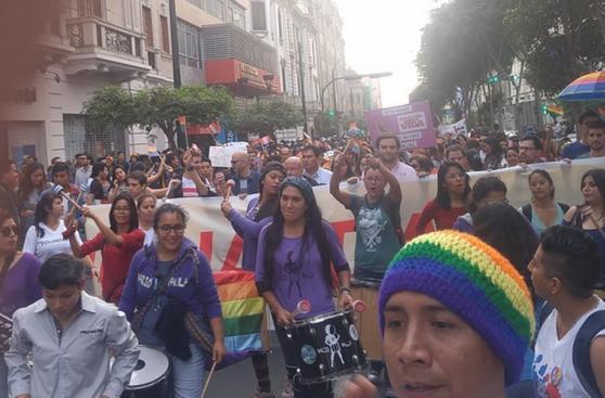 Orgullo LGBTI: marcha por igualdad en calles de Lima [FOTOS]
