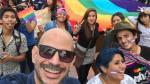 Ricardo Morán participó en la marcha por el Orgullo Gay - Noticias de ricardo morán