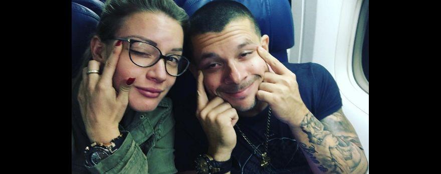 Leslie Shaw aclaró rumores de separación con Mario Hart (Instagram)