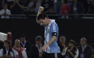 'Dios' le pide a Lionel Messi que no renuncie en emotivo video