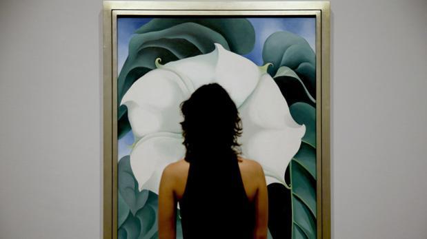 Tate Modern devela misterio de las flores de Georgia O'Keeffe
