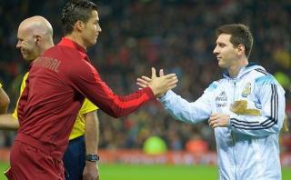 Cristiano Ronaldo le envió este mensaje a Messi por renuncia