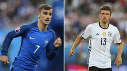 Francia vs. Alemania: día, hora y canal de la semifinal de Euro