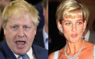 Boris Johnson compara el Brexit con la muerte de Lady Diana