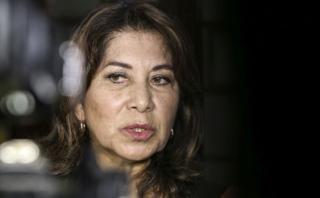 "Martha Chávez: ""Creo que fue acertado"" que Keiko nos deje fuera"