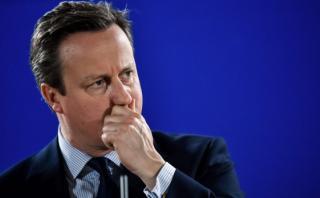 La primera reacción de Cameron tras conocer victoria del Brexit