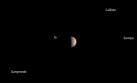 Juno en Júpiter: sonda captó impresionante danza celestial