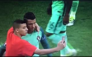 Cristiano Ronaldo y su gran gesto con voluntario de la UEFA