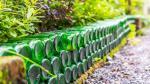 Transforma las botellas de cerveza en piezas para decorar - Noticias de botellas recicladas