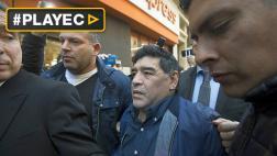Maradona denunció mafias en Asociación de Fútbol Argentina