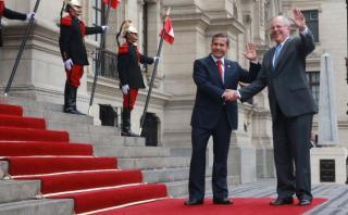 Ollanta Humala y PPK se reunieron por segunda vez en Palacio