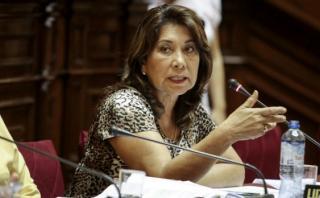 """Martha Chávez: """"Hay que acabar con la política medio hipócrita"""""""