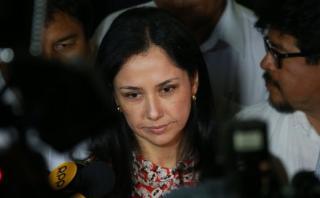 Sala confirma que Nadine Heredia debe pagar S/50 mil de caución