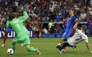Francia: genialidad de Pogba, error de Neuer y gol de Griezmann