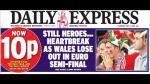 """Cristiano Ronaldo: prensa británica lo llama """"matadragones"""" - Noticias de chris coleman"""