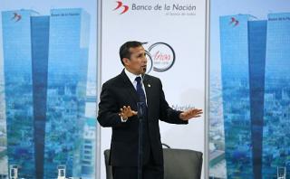 """Humala: """"El sector privado debe invertir más en provincias"""""""