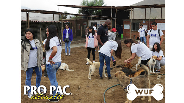 [Foto] Pro Pac cumple con albergues aliados a WUF