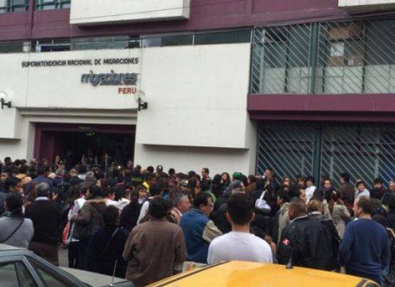 Breña: caos en Migraciones por trámite de pasaporte electrónico