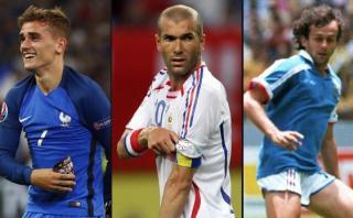 Antoine Griezmann, tras las huellas de Platini y Zidane