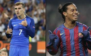 Antoine Griezmann: ¿Realmente celebra como lo hacía Ronaldinho?