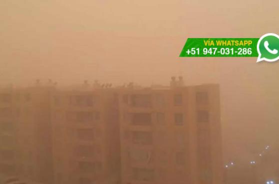 Fuertes vientos generan estragos en Tacna e Ilo (VIDEOS)