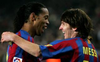 ¿Qué piensa Ronaldinho de la renuncia de Messi a Argentina?