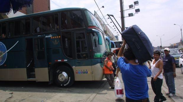 Sutrán: buses interprovinciales transmitirán video informativo