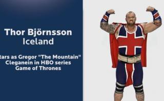 """'The Mountain' de """"Game of Thrones"""" logró un récord Guinness"""