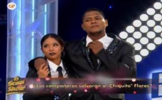 """""""El gran show"""": Melissa Klug eliminó a Juan 'Chiquito' Flores"""