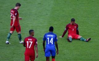 Cristiano Ronaldo: el momento en el que sale entre lágrimas
