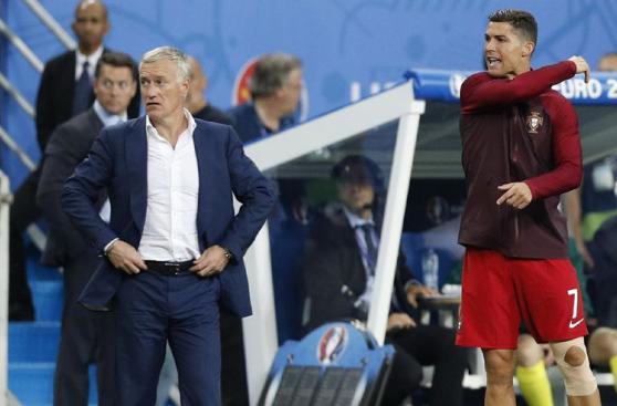 El show de Cristiano Ronaldo, el 'nuevo DT' de Portugal