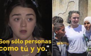 La reacción del elenco de 'Game of Thrones' ante los refugiados
