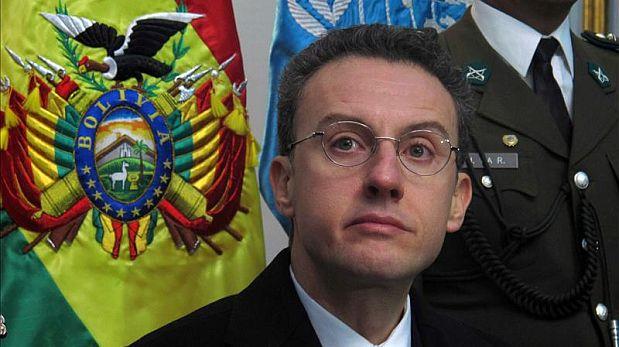 Antonino De Leo, representante oficial de la ONU contra la droga y el delito en Bolivia dijo que medidas antidrogas deberían ser evaluadas considerando las