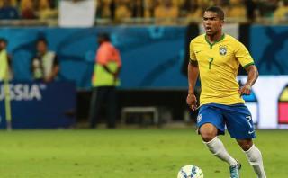 Brasil: Douglas Costa se pierde los Juegos Olímpicos por lesión